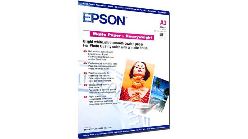 EPSON Matte Paper Heavyweight