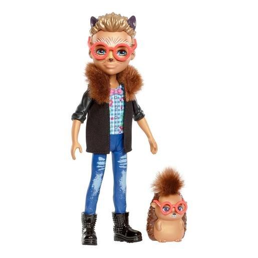 Кукла Enchantimals Хиксби Ежик с любимой зверюшкой, 15 см, FJJ22 фото