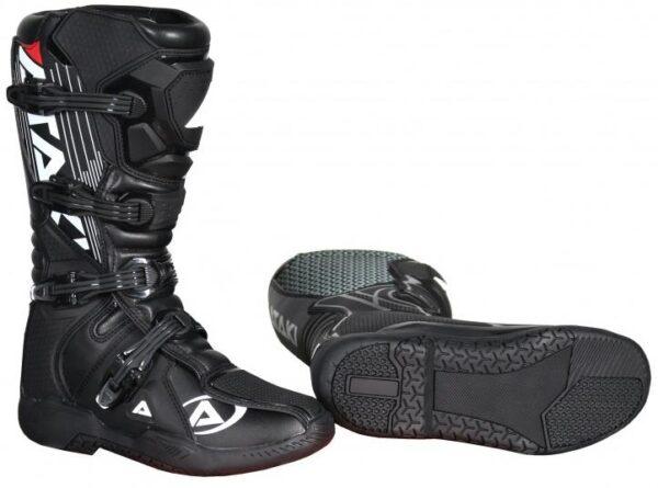 Ataki MX-001 мотоботы кроссовые, черный фото